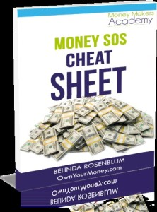 Money SOS Cheat Sheet